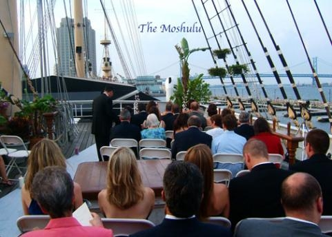 Cruise ship ceremony