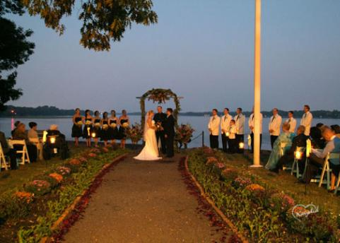 Sunset on this ceremony