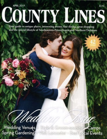 County Lines Magazine Wedding Issue April 2019